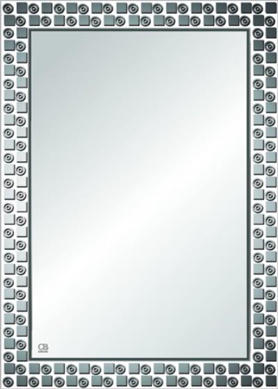 Gương soi phòng tắm Q101 do Hòa Bình Glass sản xuất và phân phối