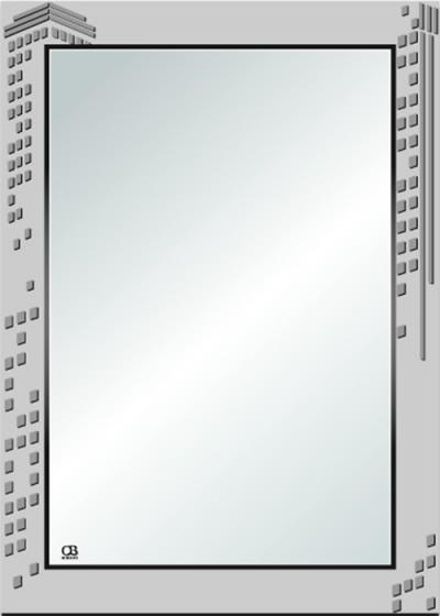 Gương soi phòng tắm Q109 do Hòa Bình Glass sản xuất và phân phối