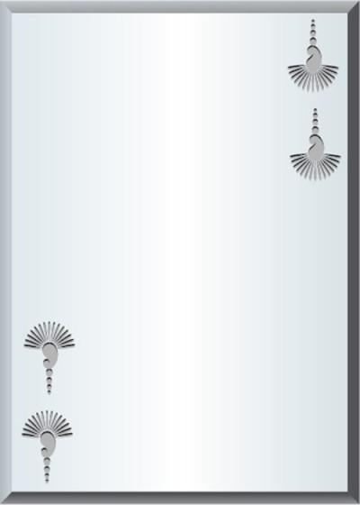 Gương soi phòng tắm Q507 do Hòa Bình Glass sản xuất và phân phối