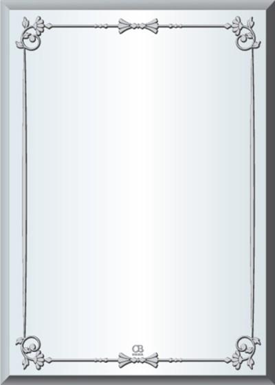Gương soi phòng tắm Q50 do Hòa Bình Glass sản xuất và phân phối