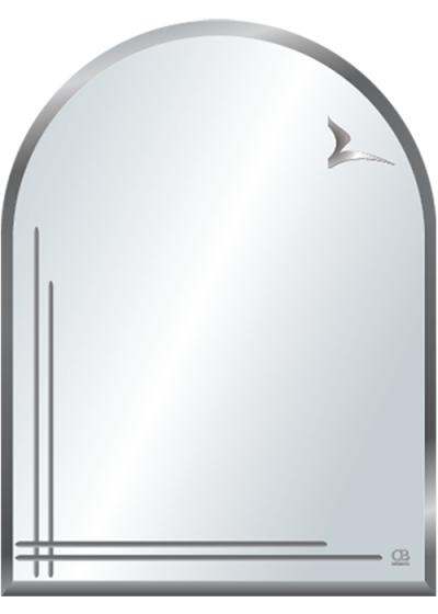 Gương soi phòng tắm Q605 do Hòa Bình Glass sản xuất và phân phối