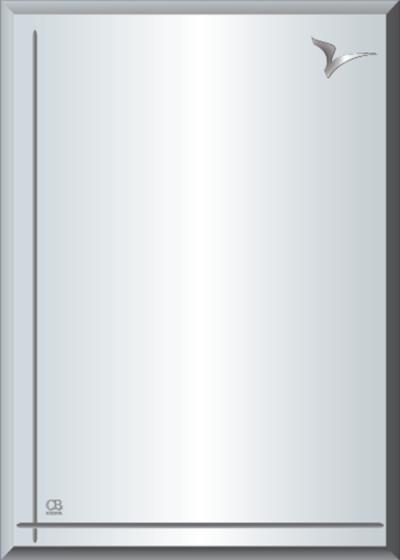 Gương soi phòng tắm Q606 do Hòa Bình Glass sản xuất và phân phối