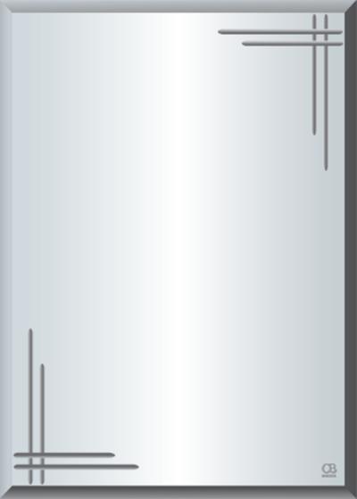 Gương soi phòng tắm Q608 do Hòa Bình Glass sản xuất và phân phối