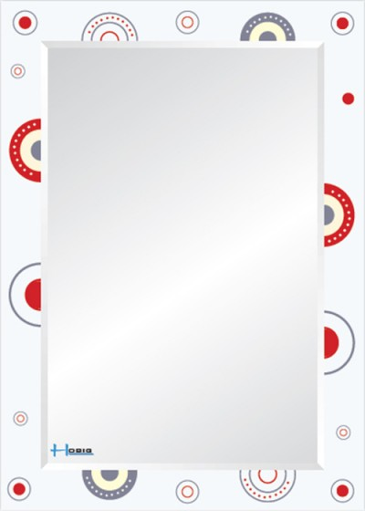 Gương soi phòng tắm HBS-741 do Hòa Bình Glass sản xuất và phân phối