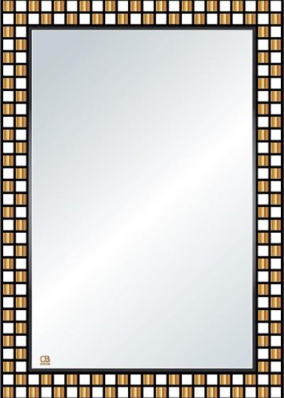 Gương soi phòng tắm Q110 do Hòa Bình Glass sản xuất và phân phối