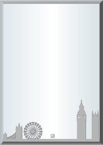 Gương soi phòng tắm Q506 do Hòa Bình Glass sản xuất và phân phối