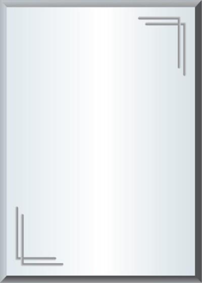 Gương soi phòng tắm Q508 do Hòa Bình Glass sản xuất và phân phối