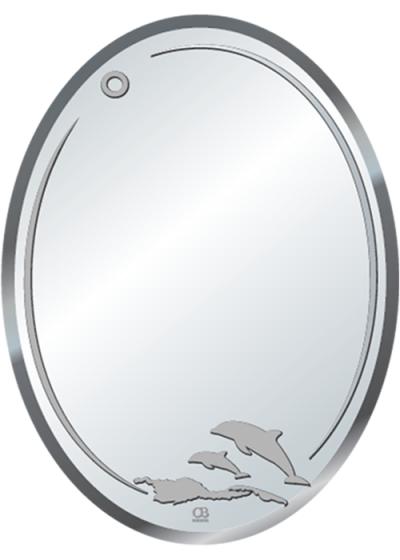 Gương soi phòng tắm Q511 do Hòa Bình Glass sản xuất và phân phối
