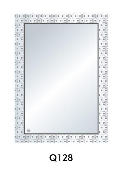 Gương soi phòng tắm Q128