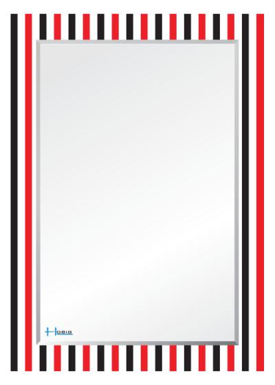 Gương soi phòng tắm HBS1-782/HBS2782